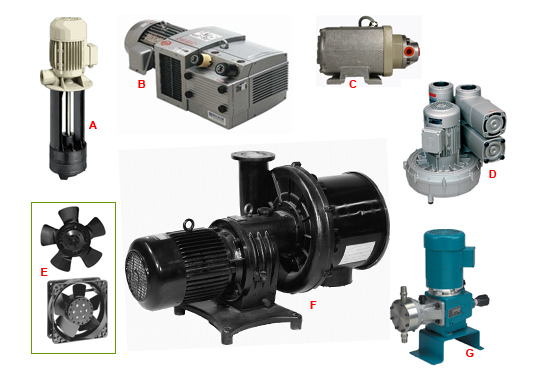 Air and Fluid Pumps